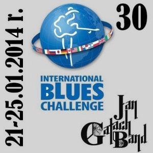 Telegram: The Jan Gałach Band jedzie !!! na 30 International Blues Challenge 2014 !!!