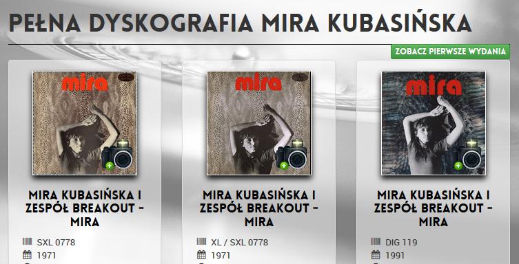 mira_kubasinska_dyskografia
