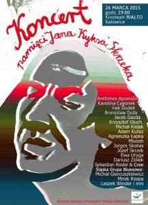 Koncert pamięci Jana Kyksa Skrzeka