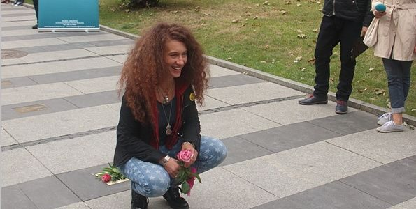 Magda Piskorczyk w Alei Bluesa