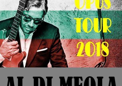 Al Di Meola OPUS Tour 2018 – dwa koncerty w Polsce