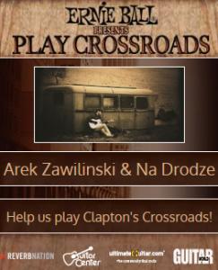Arek Zawiliński na Crossroads