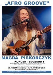 Magda Piskorczyk z Afro Groove na Saskiej Kępie