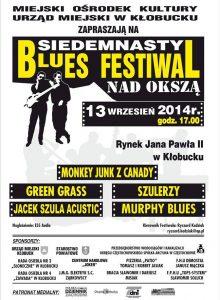 Blues Festiwal nad Okszą 2014