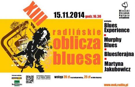 Radlińskie Oblicza Bluesa 2014