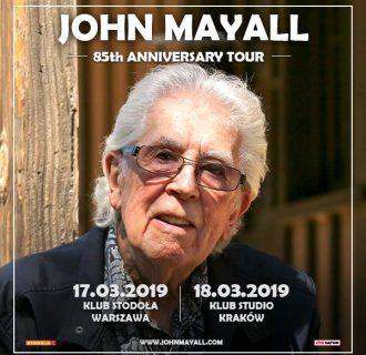 John Mayall wraca do Polski na dwa koncerty